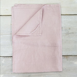 Garment Washed Linen Tea Towel