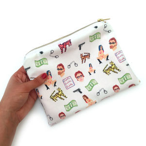 Louis Theroux Make Up Bag