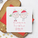 First Christmas As A Married Couple Fun Xmas Card