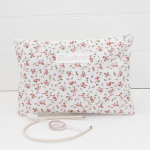 Girls Personalised Sleepover Wash Bag - wash & toiletry bags