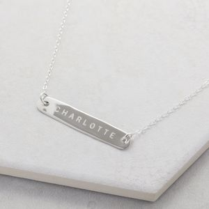 Personalised Name Necklace - necklaces & pendants