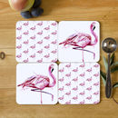 Inky Flamingo Collection Coasters