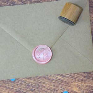 Open Me Wax Seal Stamp - wax seals
