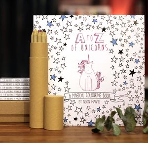 Unicorn Colouring Book - unicorns