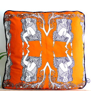 The Lady Jane Cushion - patterned cushions