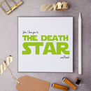 Personalised Star Wars Love Message Card