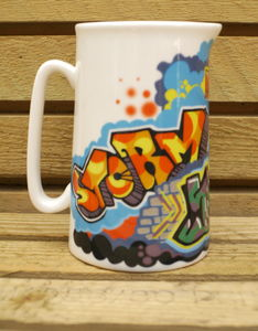 Graffiti Jug - sugar bowls & cream jugs