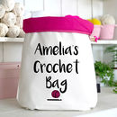 Personalised Large Crochet Bag