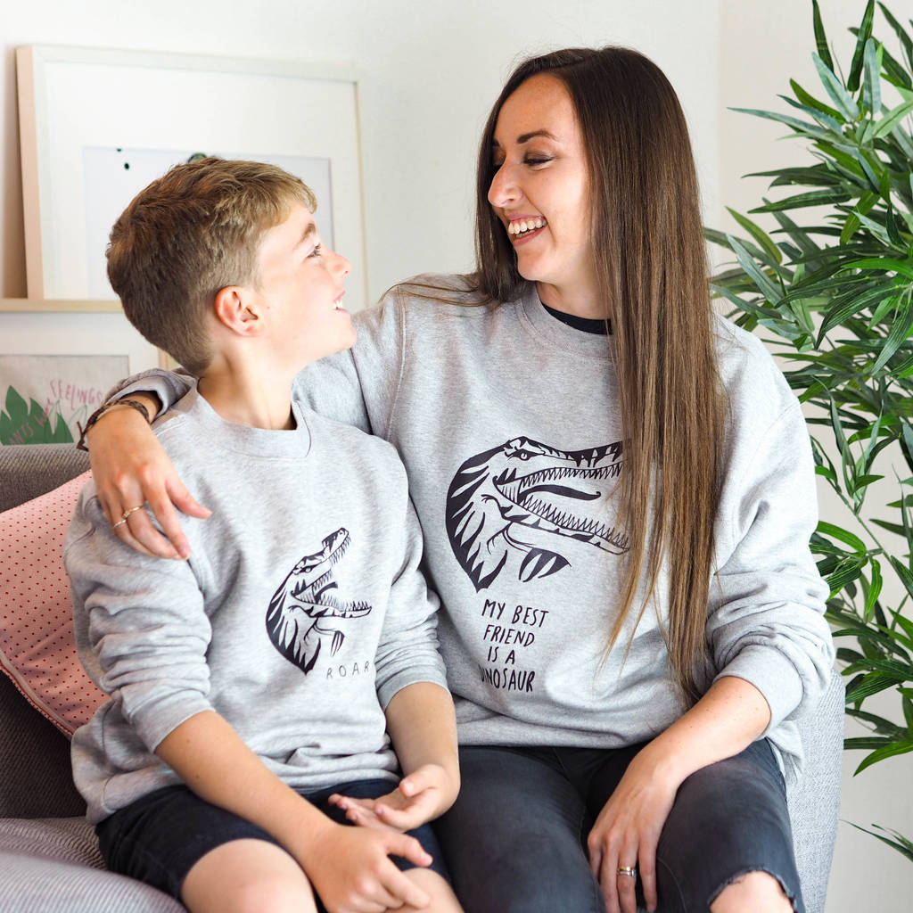 My Best Friend Is A Dinosaur Sweatshirt Set