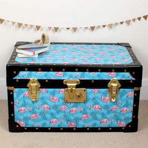 Flamingo Tuck Box - children's room