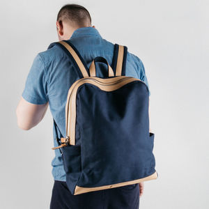 Large Canvas Backpack - bags & purses