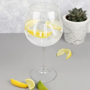 Personalised Gin Goblet - new in home