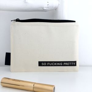 Rude Make Up Bag