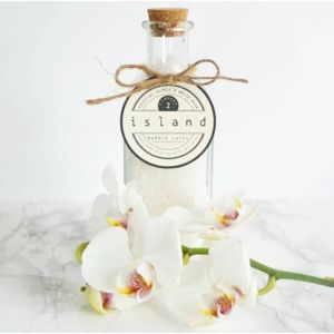 Tropical Orchid And White Musk Bubble Bath Salts - bathroom