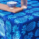 Blue mix Pineapple Table cloth