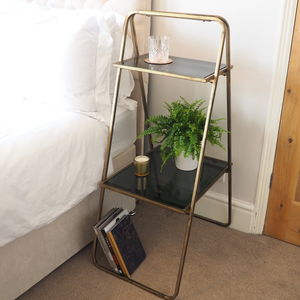Elegant Brass Display Unit