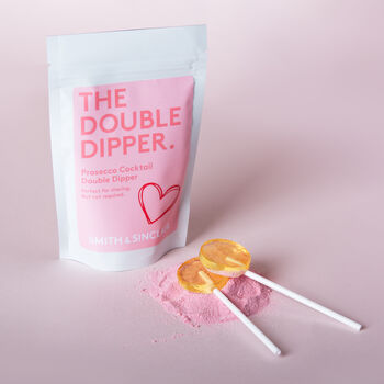 Alcoholic Prosecco Sherbet Cocktail Dipper