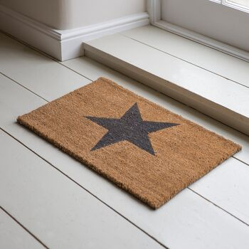 Single Star Doormat Various Sizes