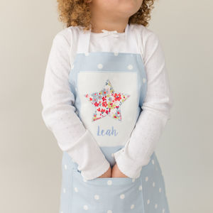 Handmade Personalised Embroidered Apron - baking