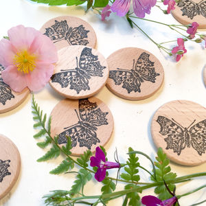 Butterfly Clear Rubber Stamp - whats new