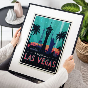 Las Vegas Nevada Travel Print