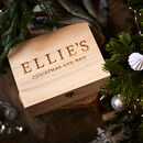Original Wooden Christmas Eve Box