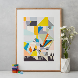 Abstract Art Print - original art under £100