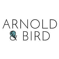 Arnold & Bird logo by Joanne Griffin