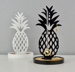 Acrylic And Cork Pineapple Jewellery And Ring Dish