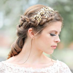 Cleo Gold Opal Grecian Headdress