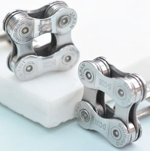 Shimano Bicycle Chain Cufflinks - gifts for cyclists