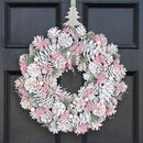 Wild Heather Sparkle Deluxe Christmas Wreath