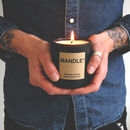 Personalised Fathers Day Gift Candle For Men Mandle