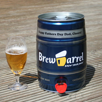 Personalised Homebrew Kit For Dad