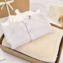 Baby Unisex Cool Grey And Yellow Luxury Gift Box