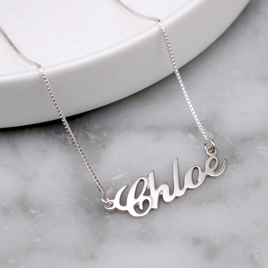 necklace and chains custom pin pearl name baby your footprints of picture a birthstone with
