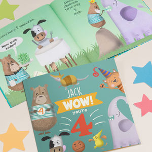 Personalised 4th Birthday Children's Book