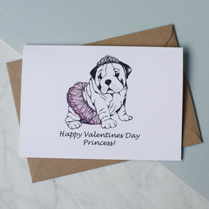 Valentines Princess Bull Dog