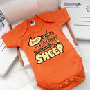 'Shhhh.. Don't Make A Peep' Baby Gro, New Baby Gift