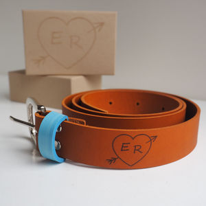 Personalised Valentines Belt