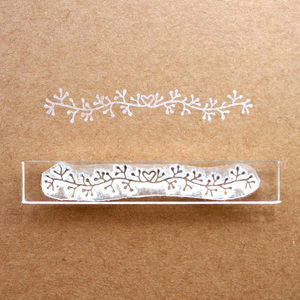 Berry Garland Flexi Clear Stamp
