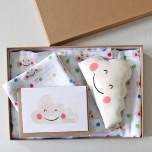 Baby Gift Box Happy Clouds - gift sets