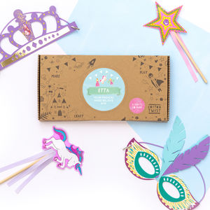 Personalised Make Believe Craft Kit Activity Box - traditional toys & games