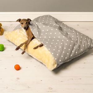 Charley Chau Dotty Snuggle Beds - dog beds & houses