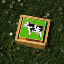 Farm Animal Block Puzzle Toy