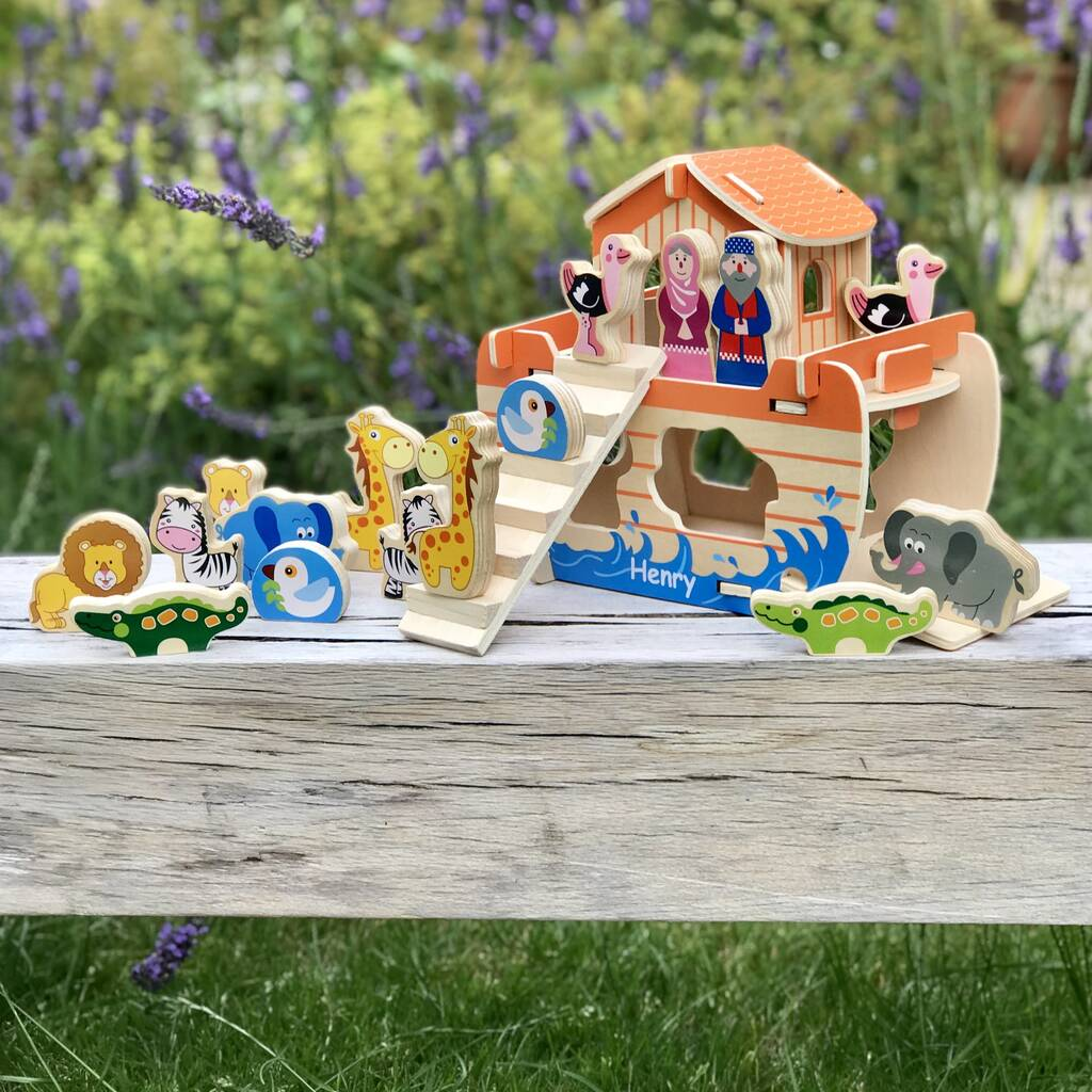 Personalised Noah's Ark Construction Game