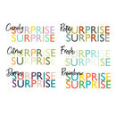 Personalised Scratch Off Surprise Treat Card A5