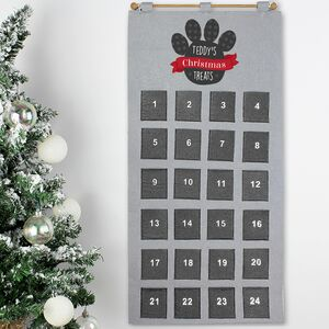 Personalised Dog Treats Advent Christmas Calendar