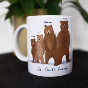 Personalised Bear Family Mug - what's new