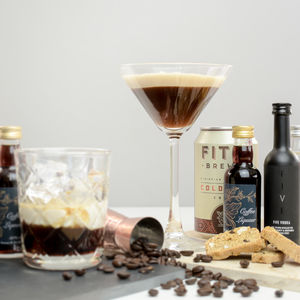 Espresso Martini Cocktail Set - vodka